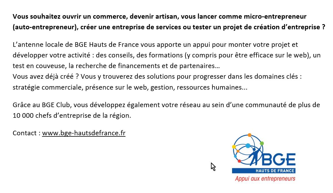 BGE Haut de France