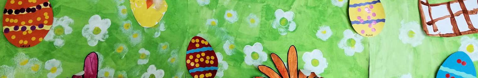 Chasse aux œufs : les photos